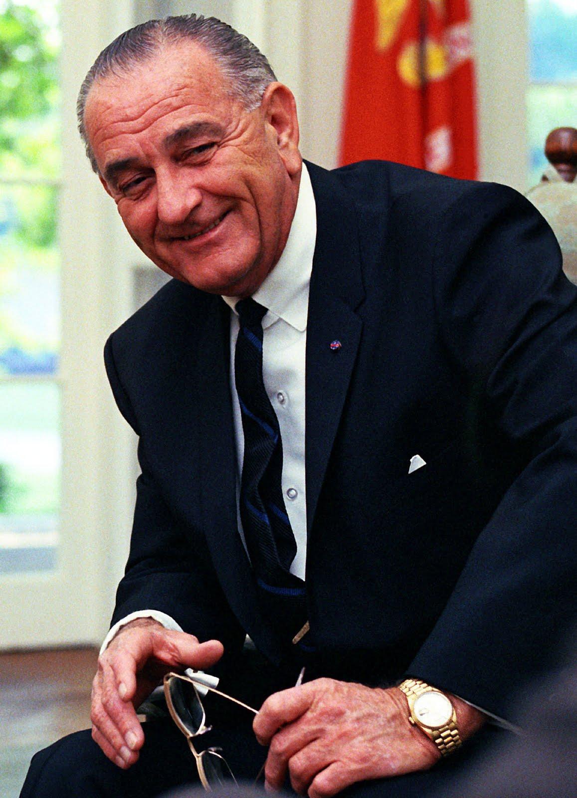 The First Watch: President Lyndon Johnson - Bob's Watches