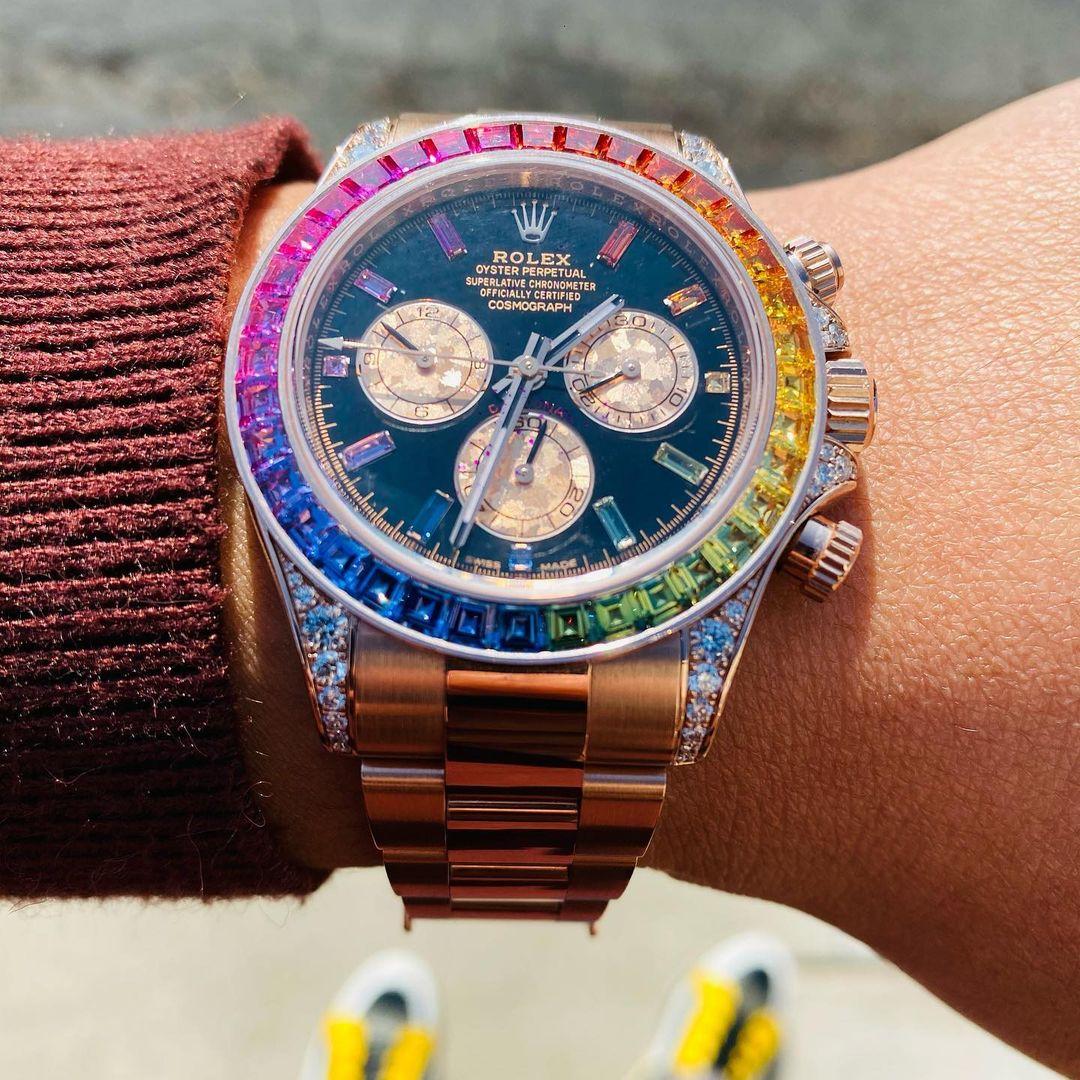 Rolex Rainbow Daytona 116595RBOW