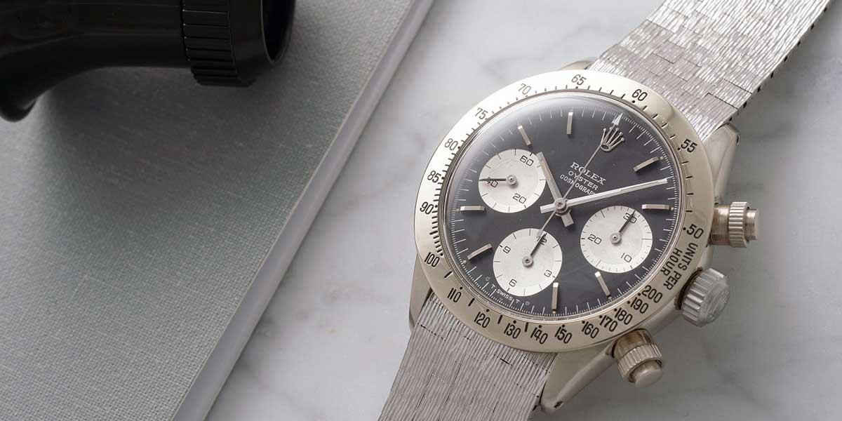 White Gold Daytona 6265