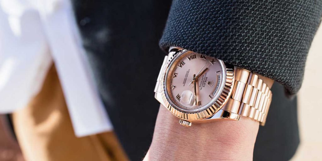 Fluted bezels on a day-date can add a touch of class to your wrist