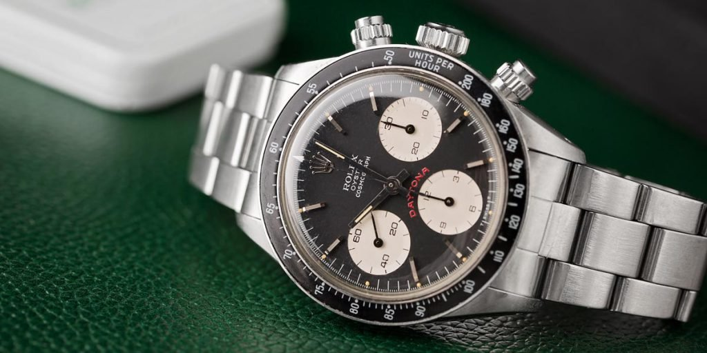 The Rolex Daytona 6239 was the first Daytona ever made