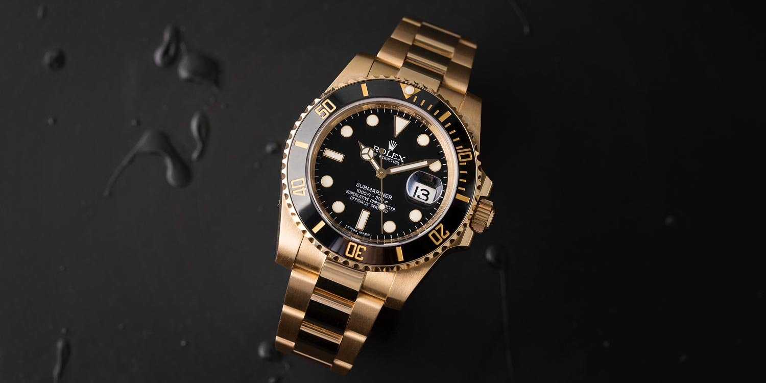 The Rolex Submariner 116618 is the first watch to feature the Cerachrom bezel