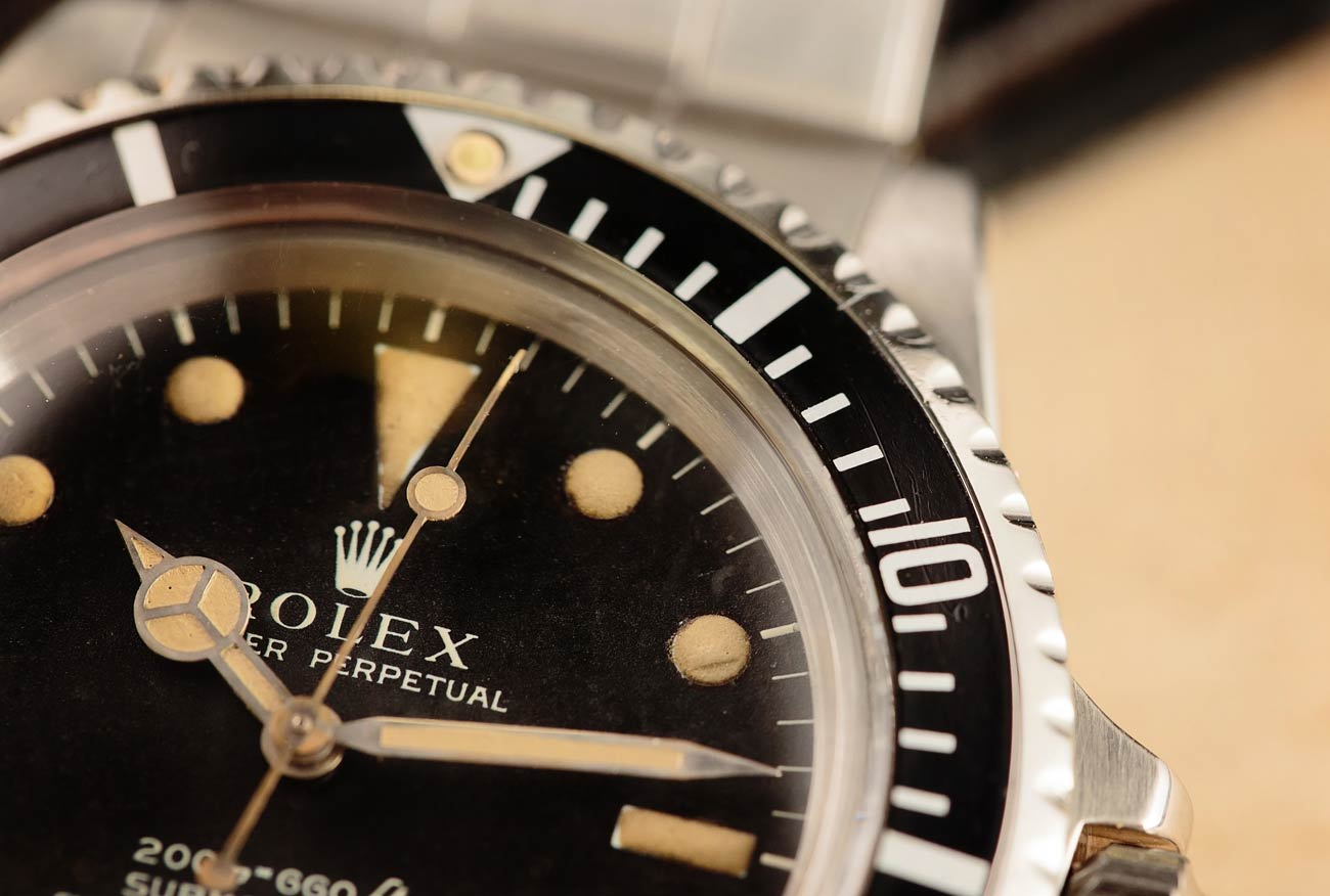 Dive Watches Rotating Timing Bezel Tutorial Vintage Submariner 5512
