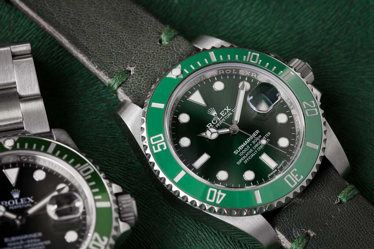 Rolex Submariner Green Hulk vs Kermit