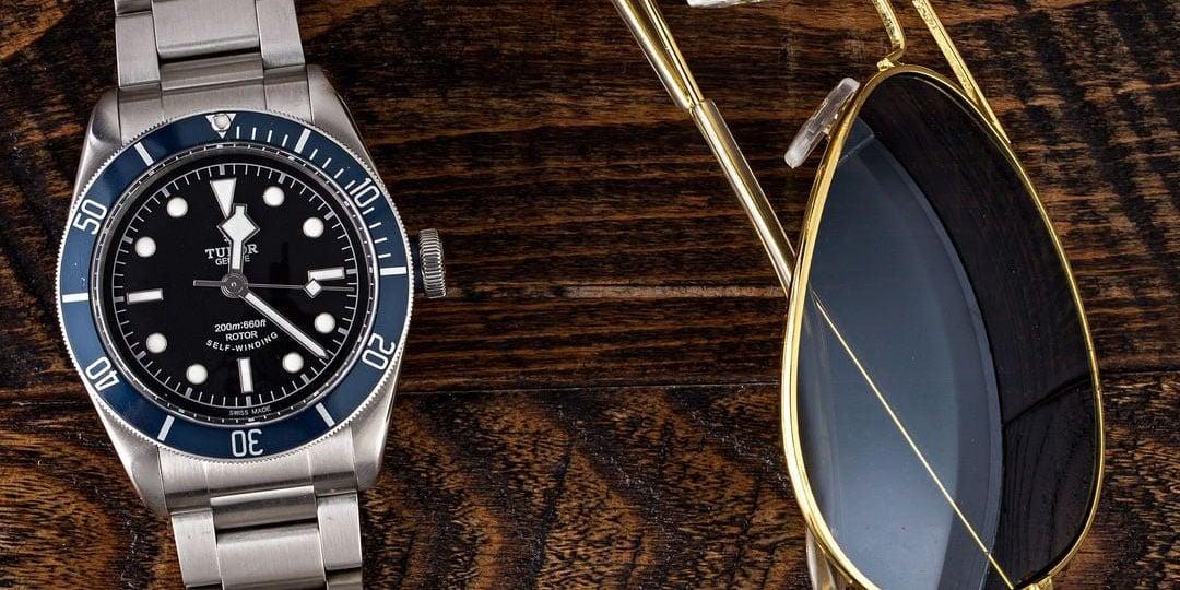 men's luxury watches Tudor Black Bay