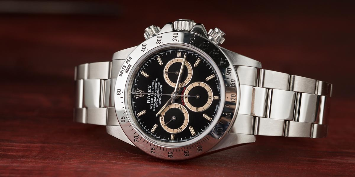 The Rolex Daytons with Tachymeter Bezel