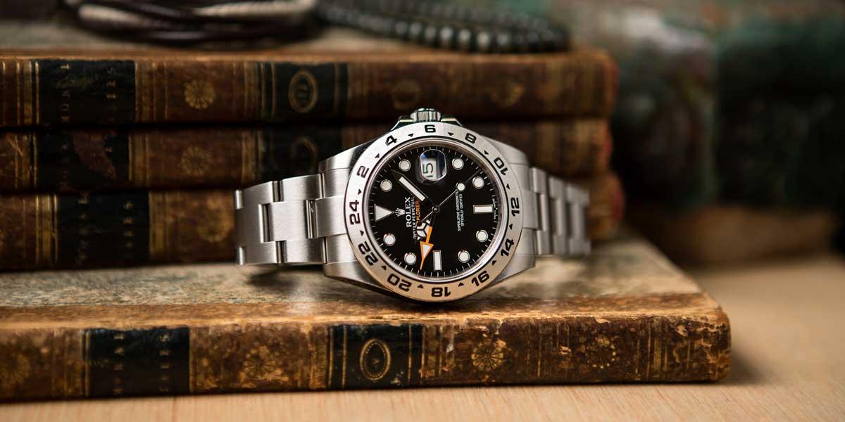 Rolex Explorer II History