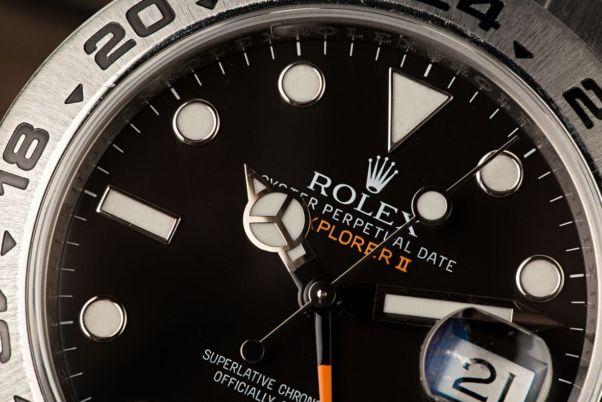 Rolex Explorer II 216570 How to Use 24-Hour Bezel