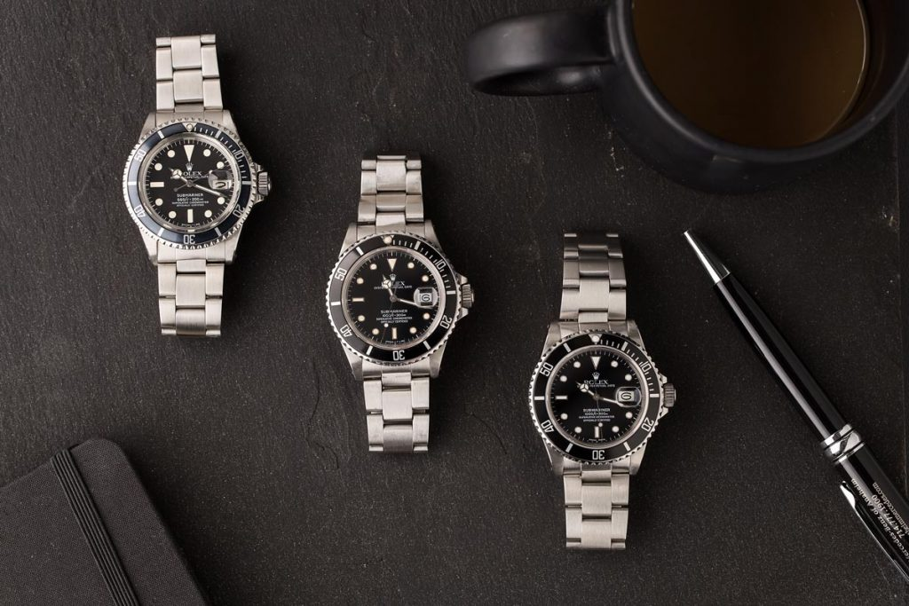 The Rolex Submariner is one of Rolex's most iconic watches