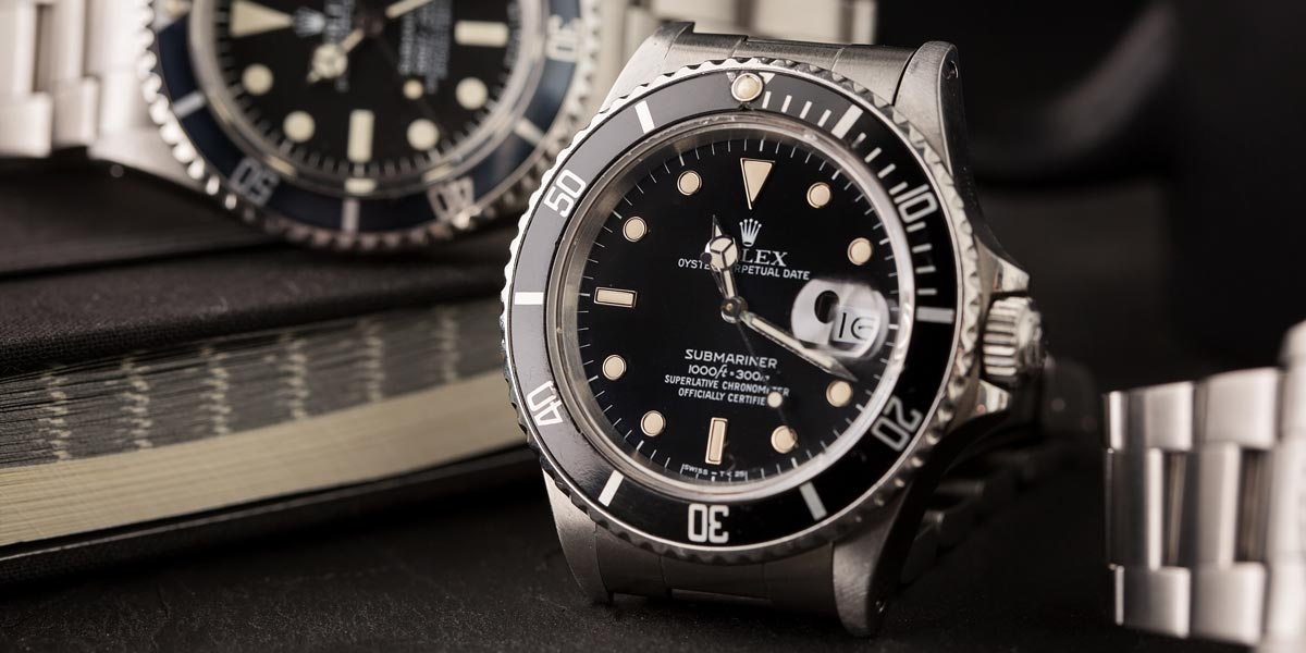 The Rolex Submariner is one of Rolex's most celebrated models