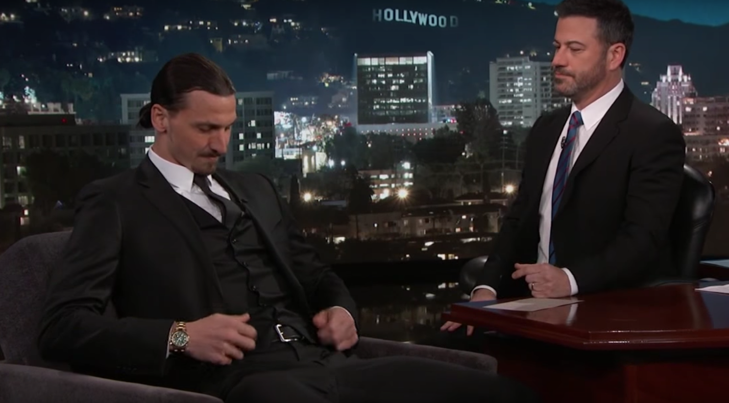 Zlatan Ibrahimovic on Jimmy Kimmel Live