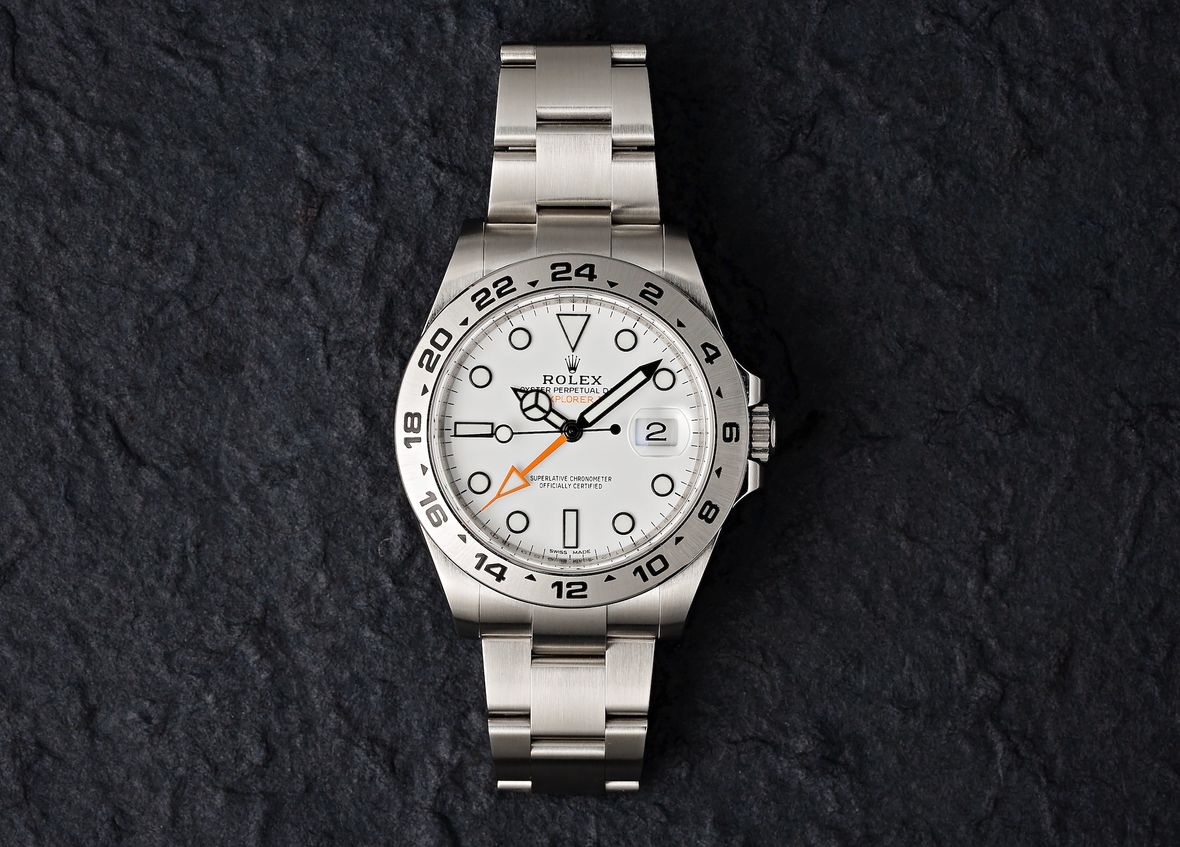 Rolex Polar Explorer II 216570 How to Use 24-Hour Bezel