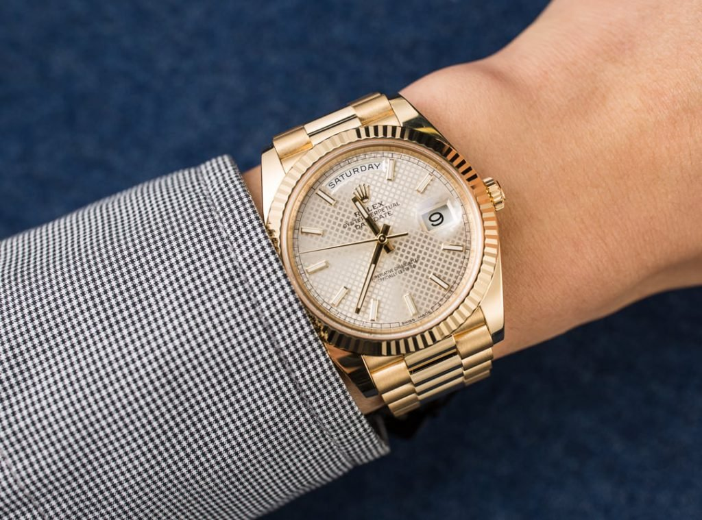 The Rolex Day-Date 228238 is similar to the reference 6611