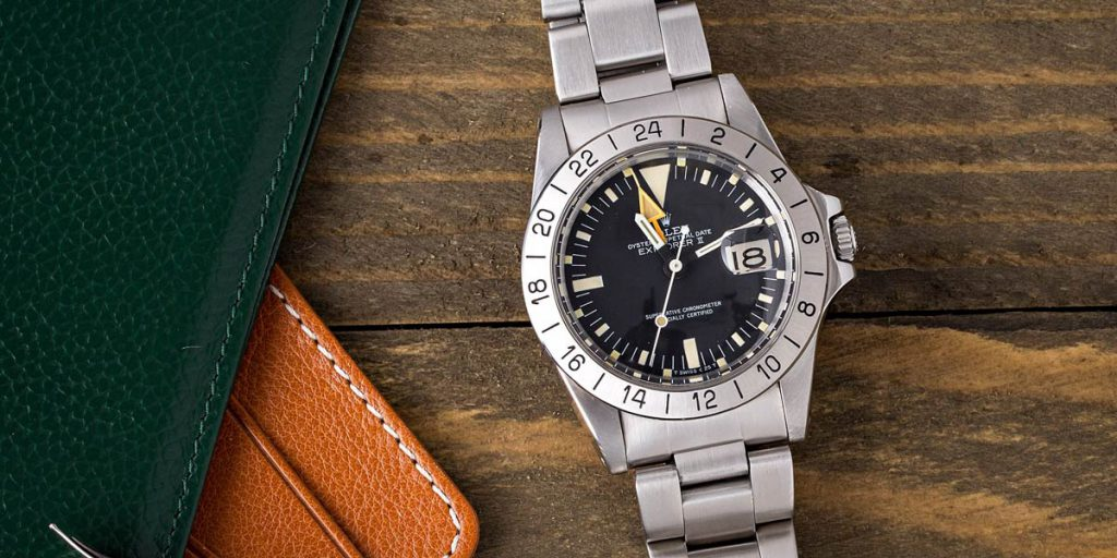 The GMT Master and The Explorer II both feature easily readable military hour markers