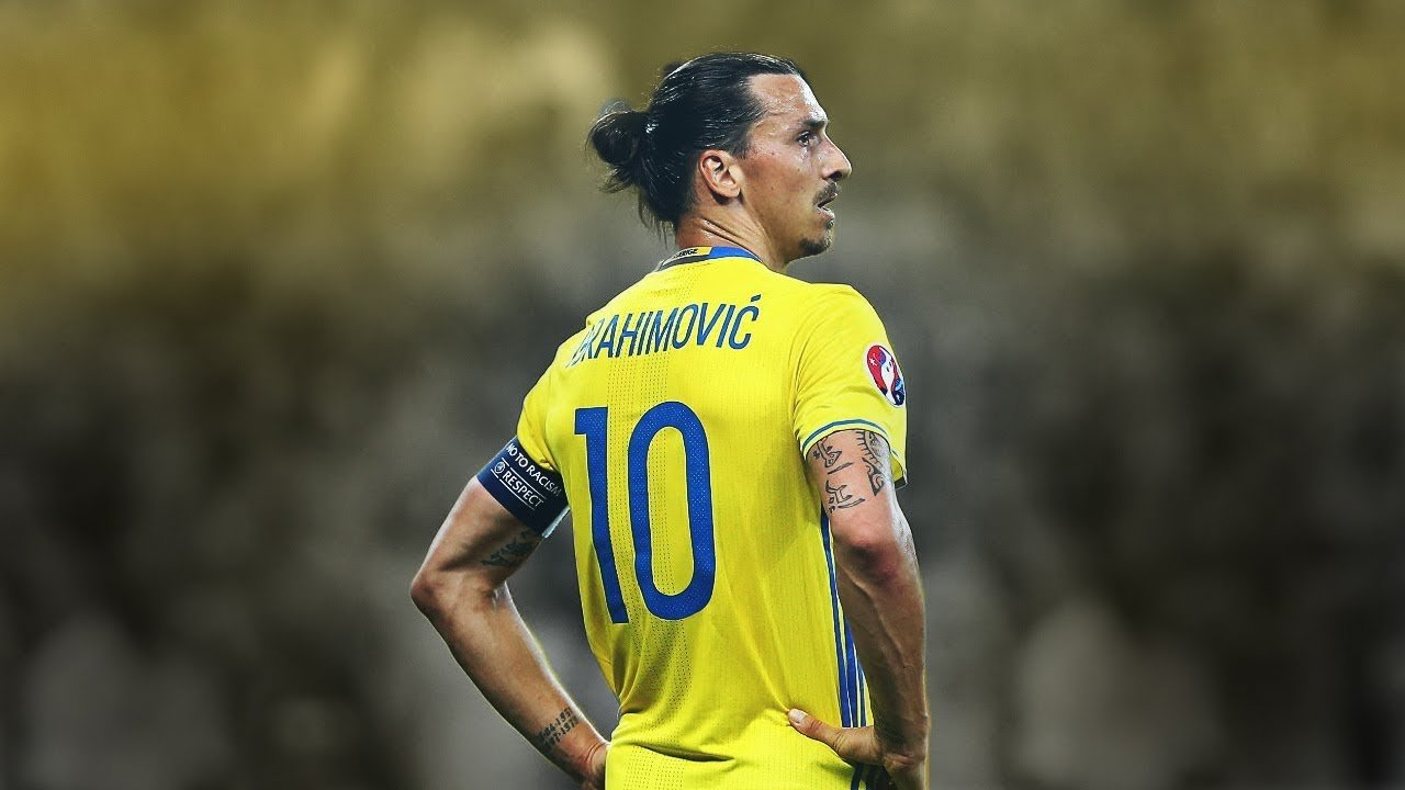 Zlatan Ibrahimovic Is A Swedish International Football Star