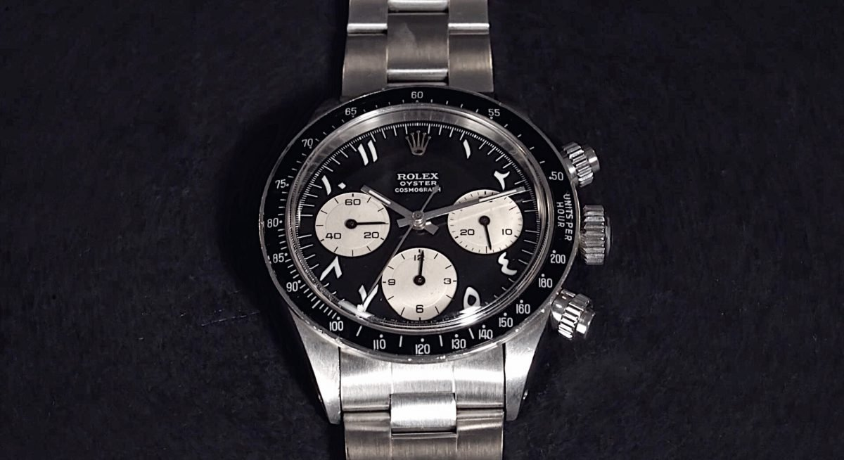 "The Rolex Daytona Ref. 6263 ""The Arabian Knight"""