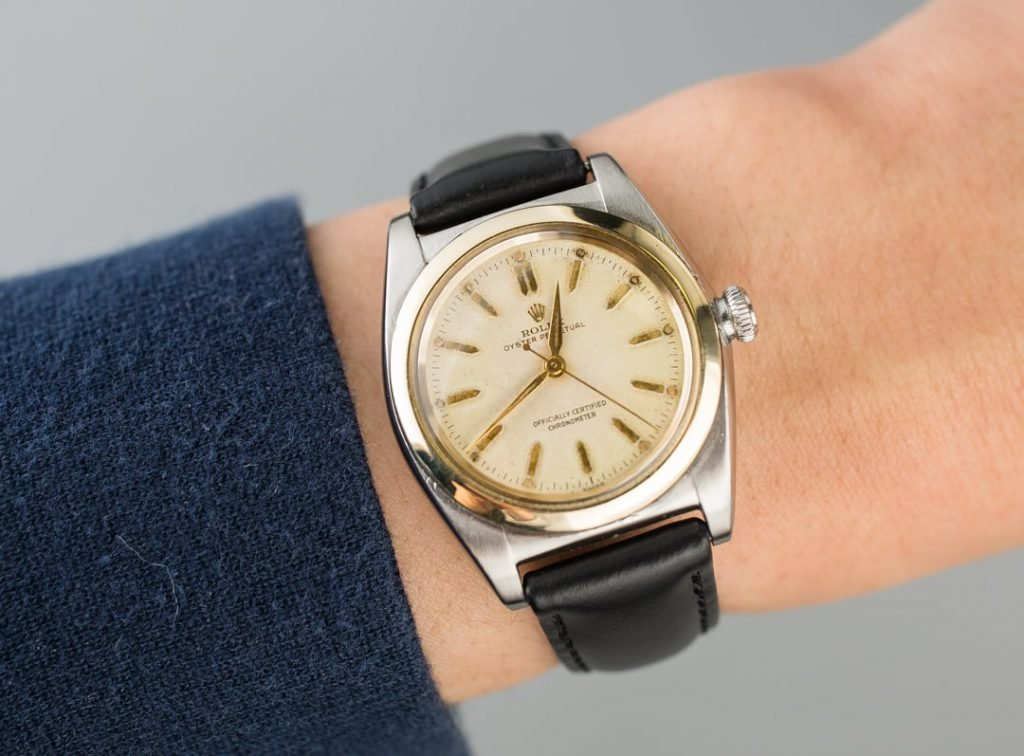 Rolex BubbleBack Oyster Perpetual