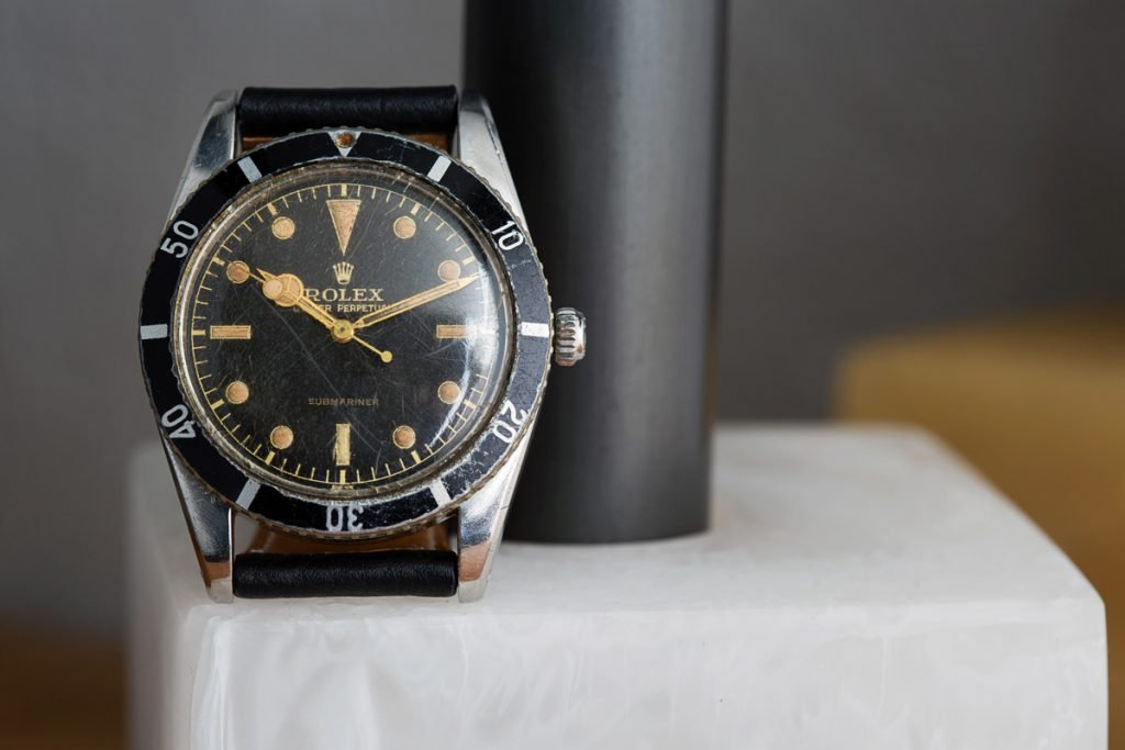 The Rolex Submariner 6204 is the grandfather of all modern diving watches