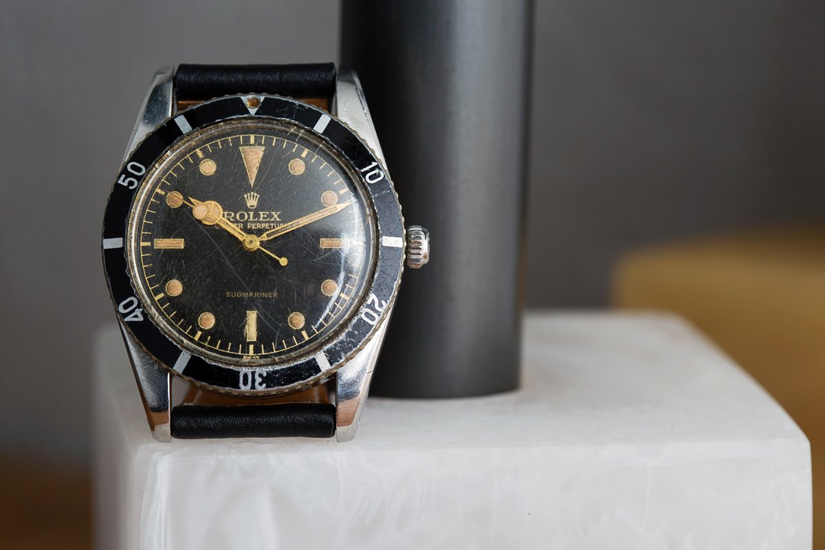 dive watch history rolex submariner 6204