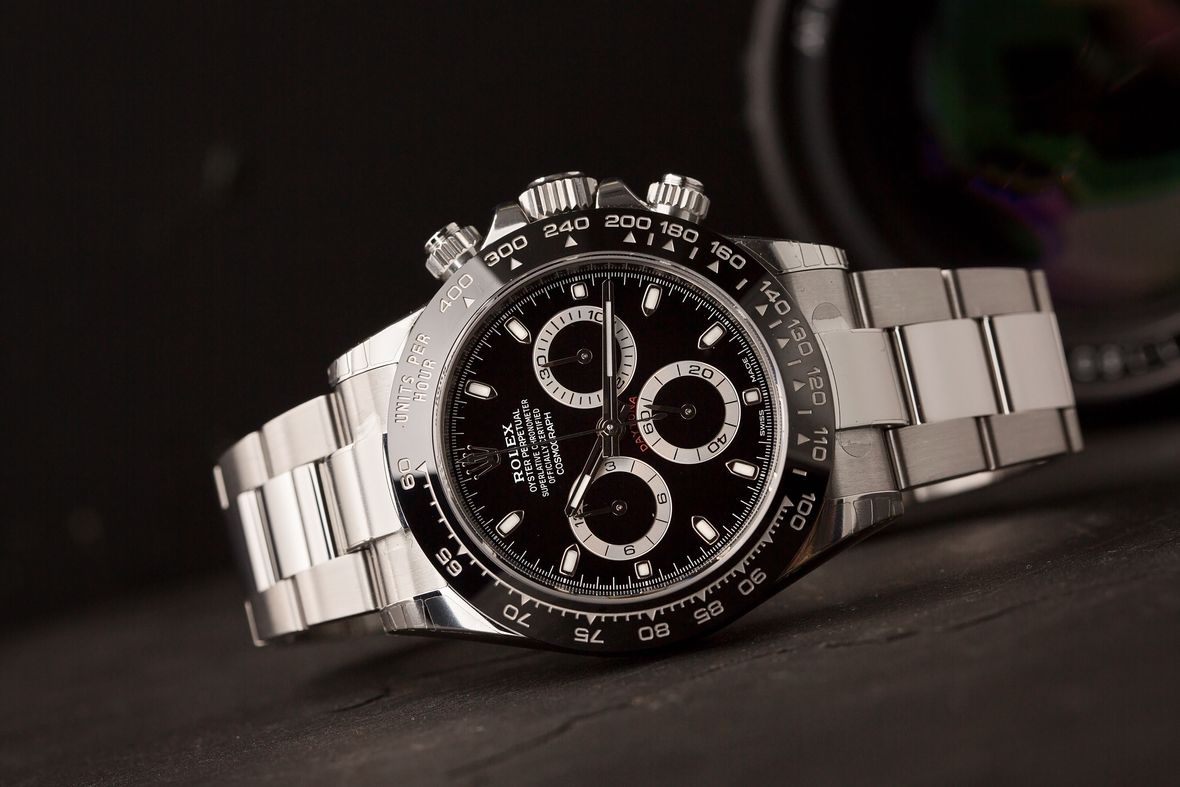 Determine Rolex Age with Serial Number Stainless Steel Daytona Ceramic