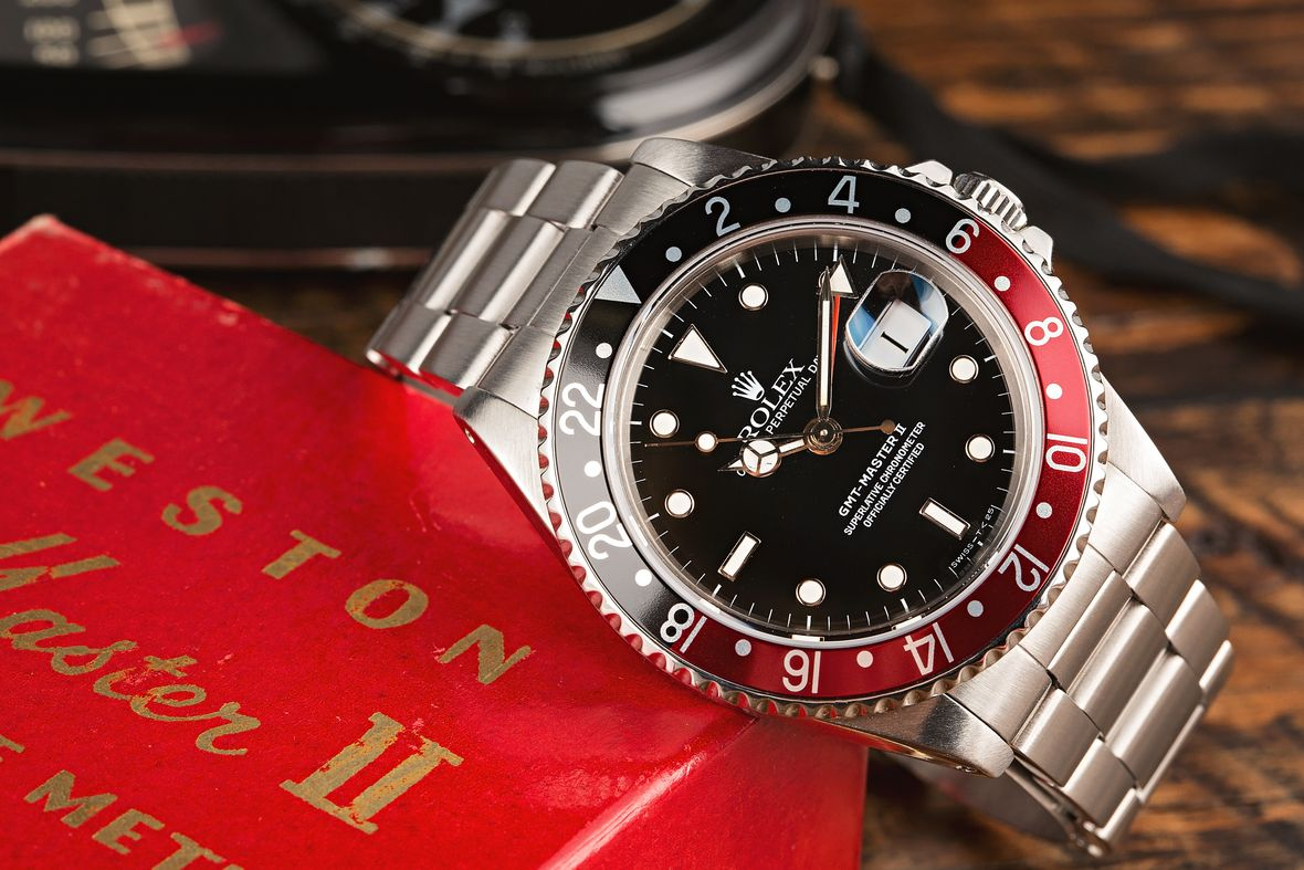 Determine Rolex Age with Serial Number GMT-Master II Coke