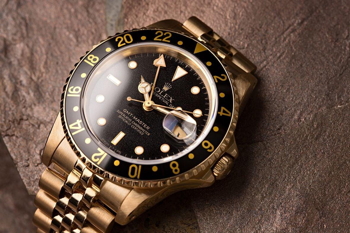 Determine Rolex Age with Serial Number Vintage GMT-Master 18k Gold