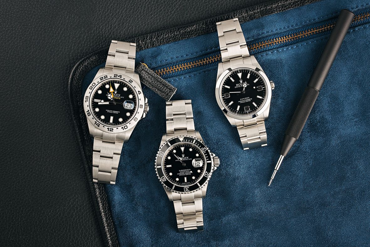 How to Store Your Rolex Storage Stainless Steel Sports Watches