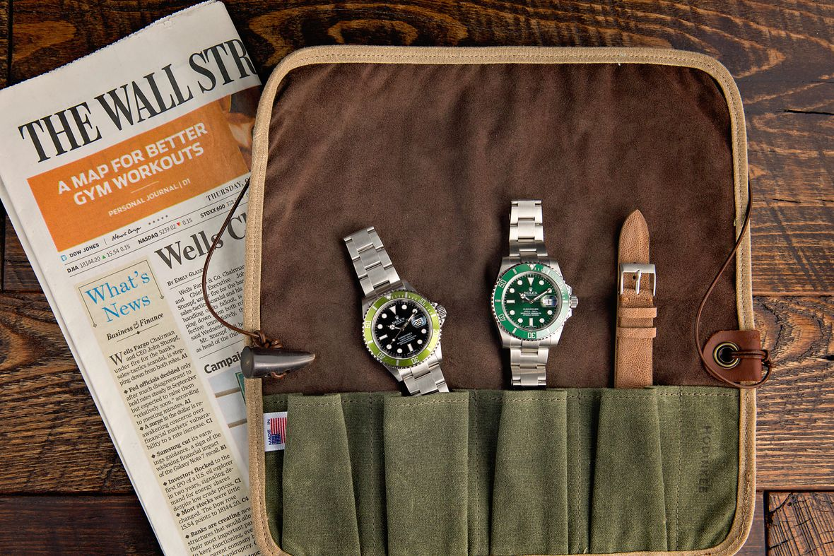 How to Store Your Rolex Storage Green Submariner Watch Roll