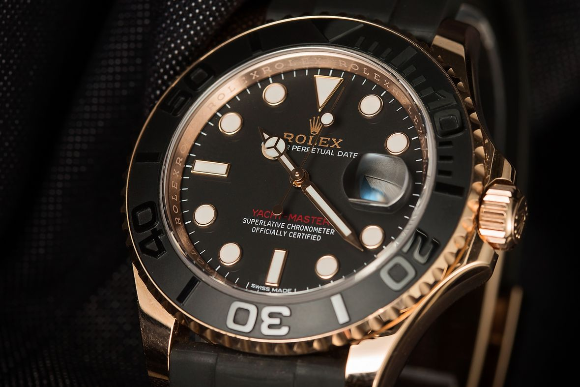 Determine Rolex Age with Serial Number Everose Oysterflex Yacht-Master