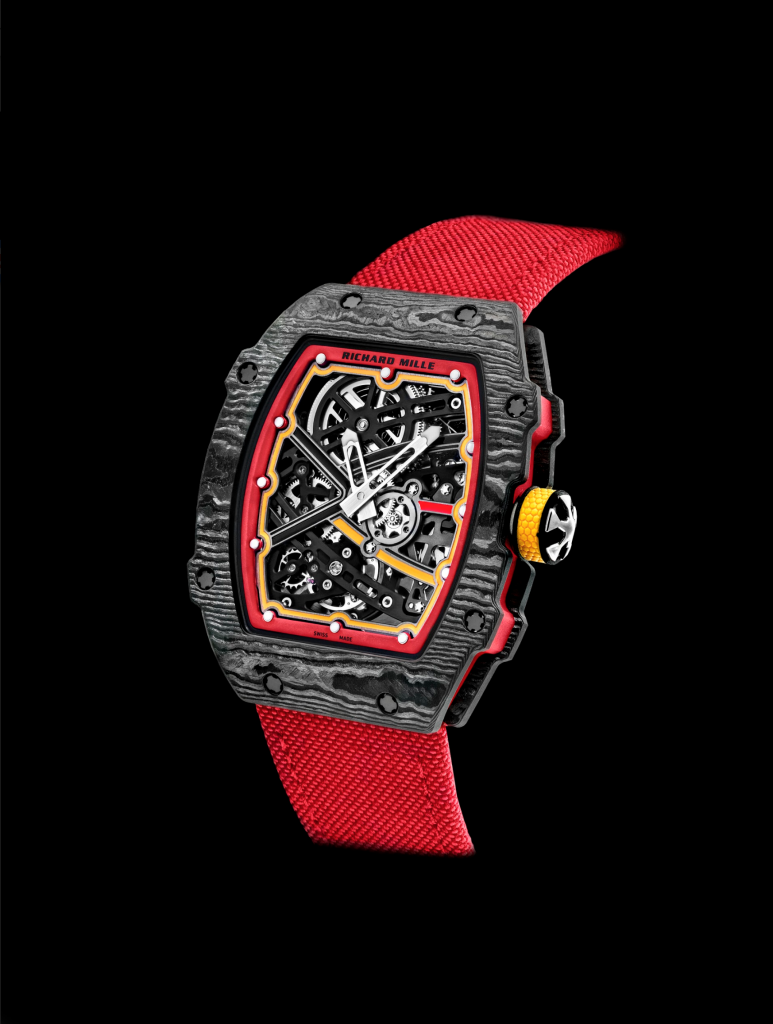 New Richard Mille RM 67-02 in red