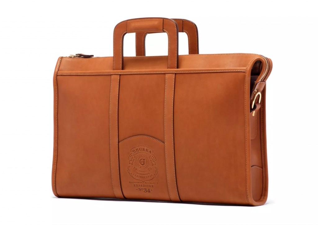The Ghurka Expediter No. 34 Attache Case is something stylish and functional any grad would appreciate