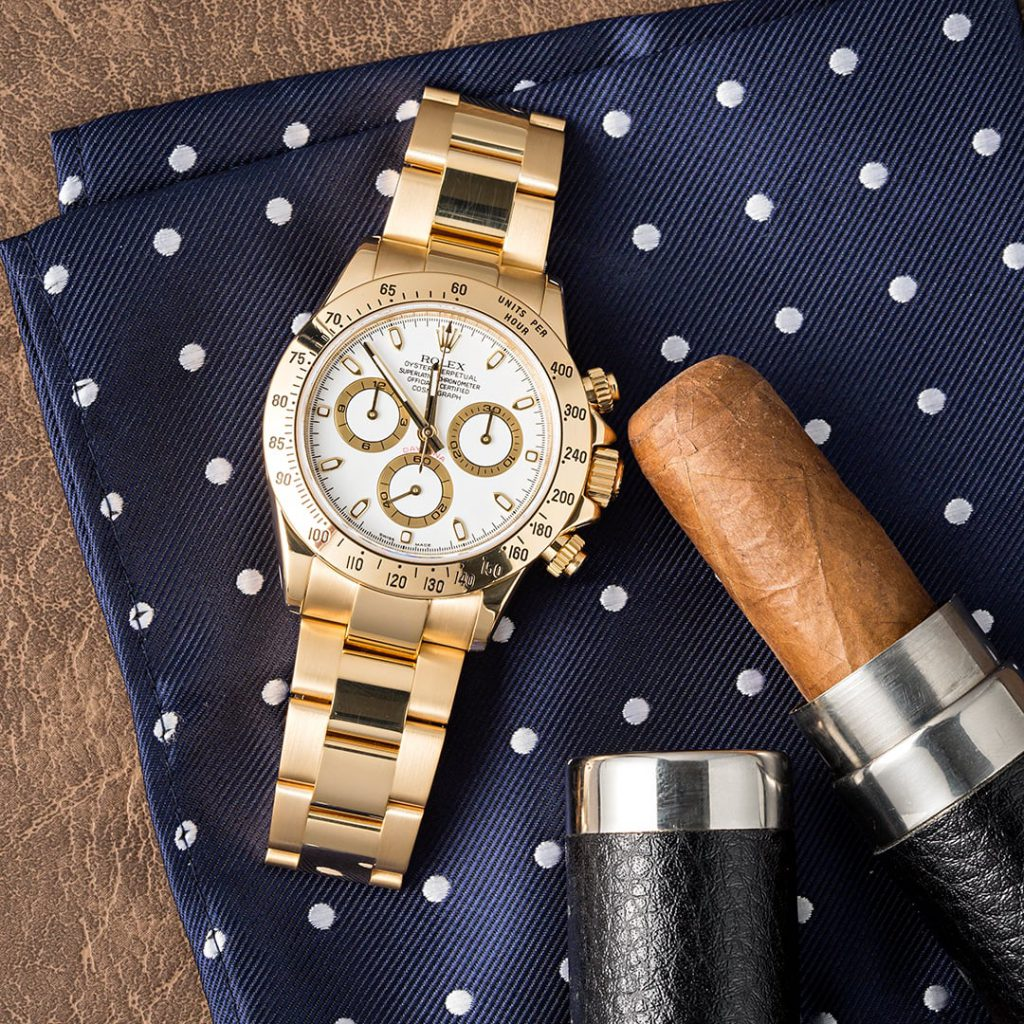 The Yellow Gold Rolex Daytona 116528