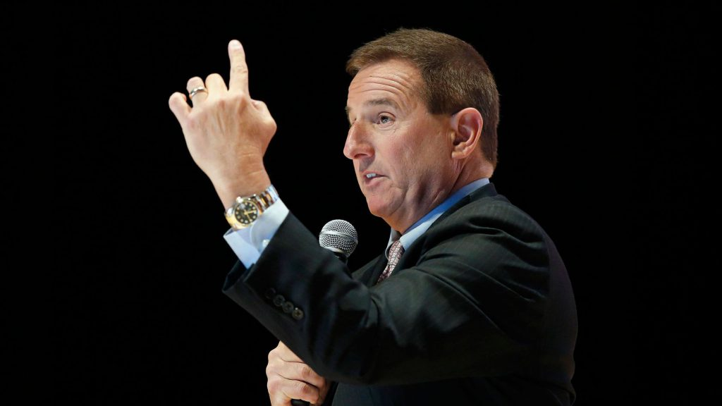 Mark Hurd owns a two-tone datejust