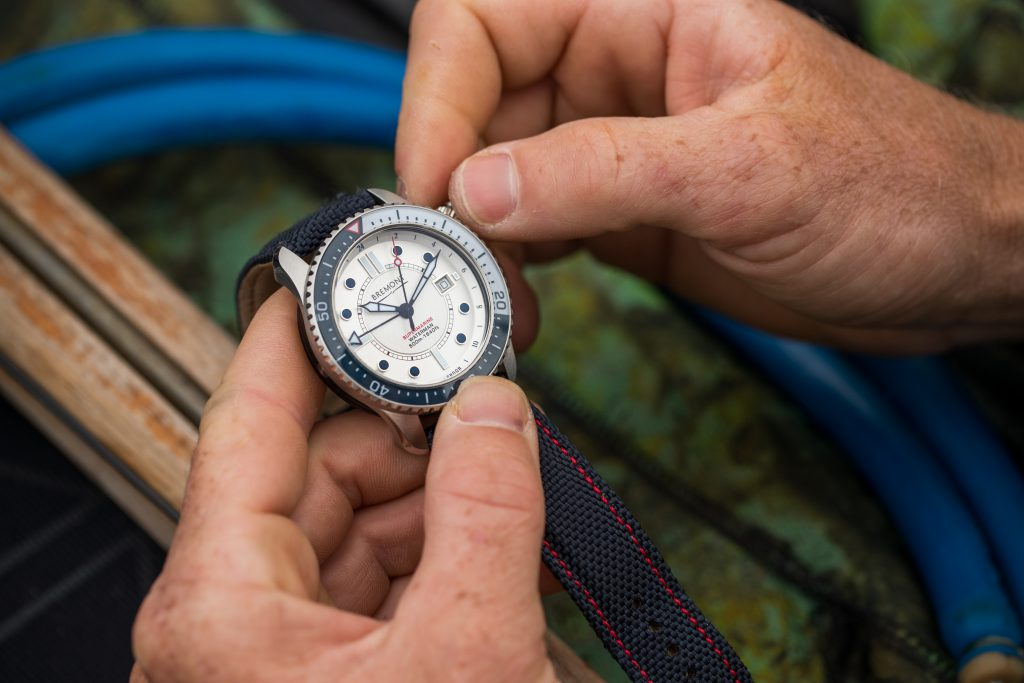 The Bremont diving watch