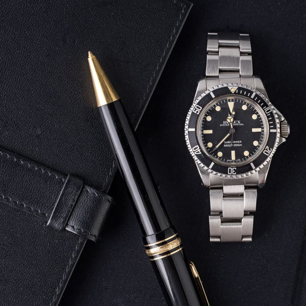 A vintage Rolex Submariner 5513 is one of the most important dive watches ever made