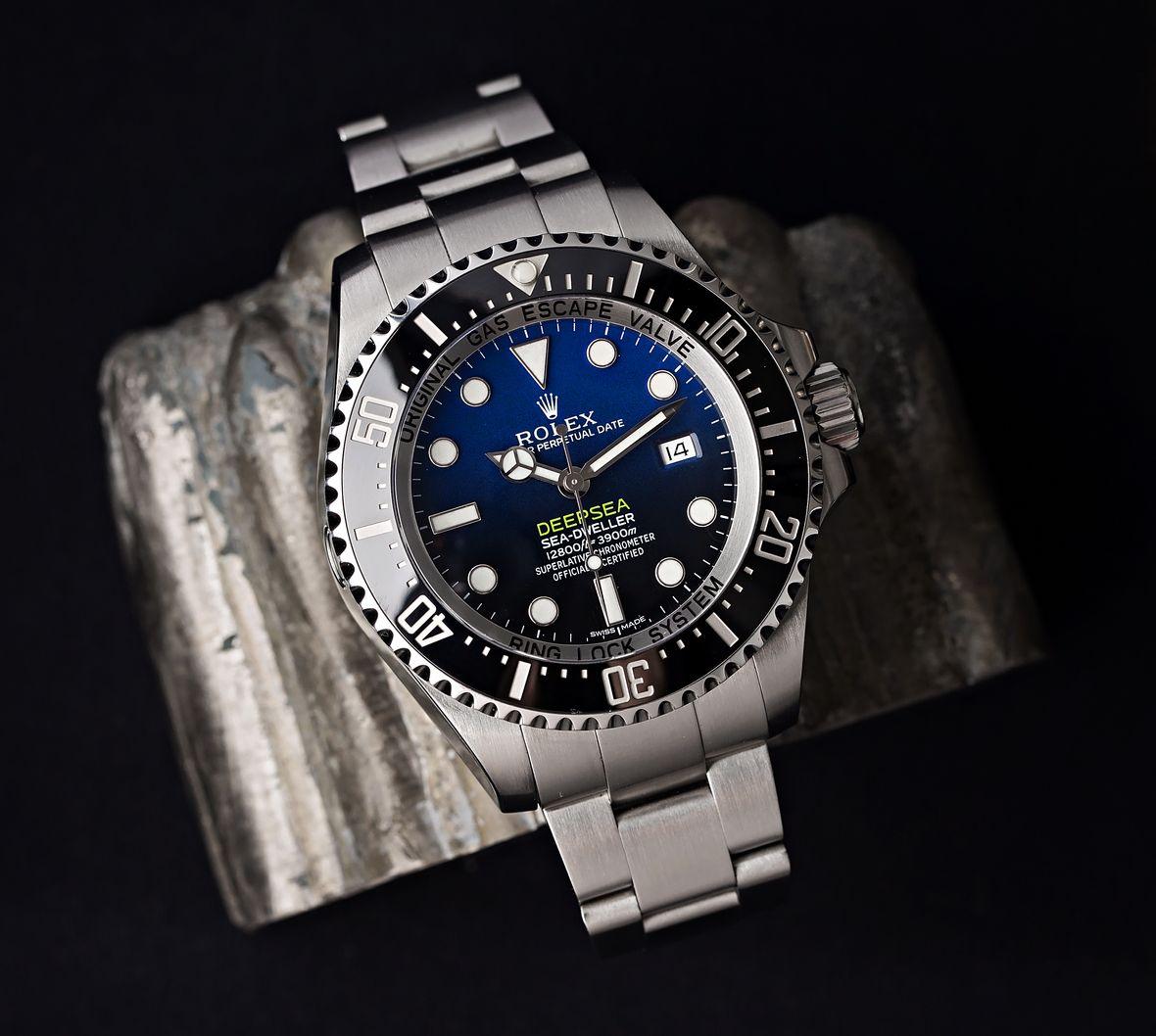 Oystersteel Rolex Deepsea Sea-Dweller 116660 James Cameron D-Blue Dial