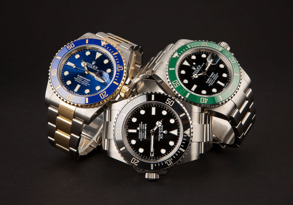 Rolex Submariner Watches Oystersteel Yellow Rolesor Two-Tone