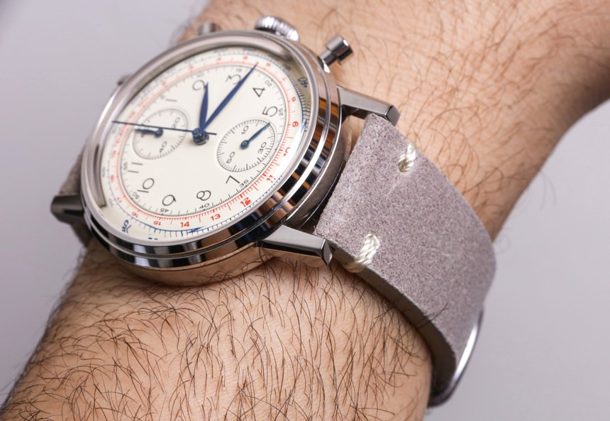 Funded by Kickstarter: The Undone Vintage Watch - Photo courtesy of A Blog To Watch