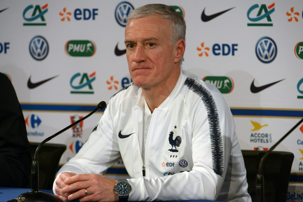 Didier Deschamps prefers to wear a Big Bang Hublot