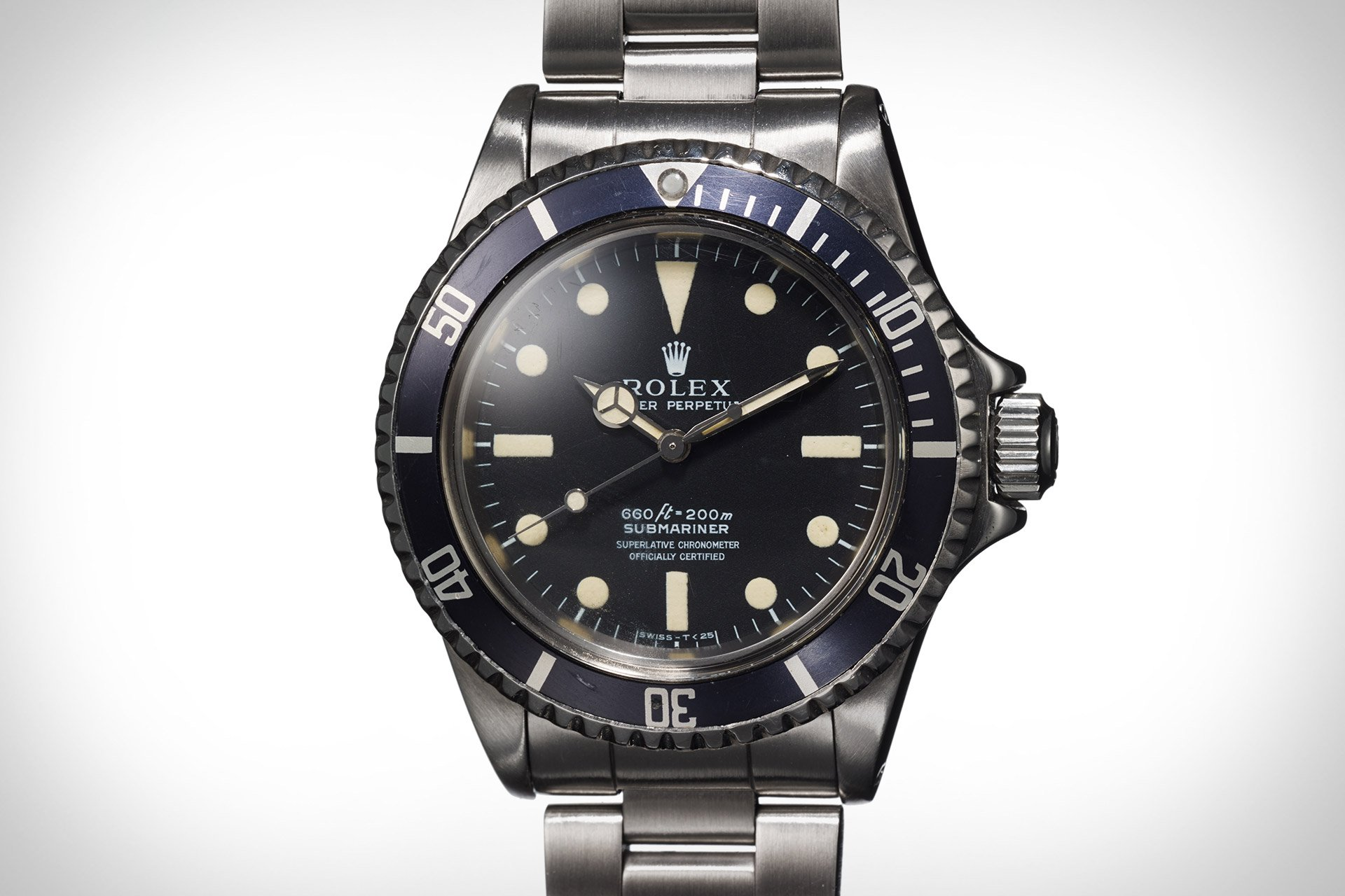 The Steve McQueen Submariner gifted to Loren Janes was pulled from the auction