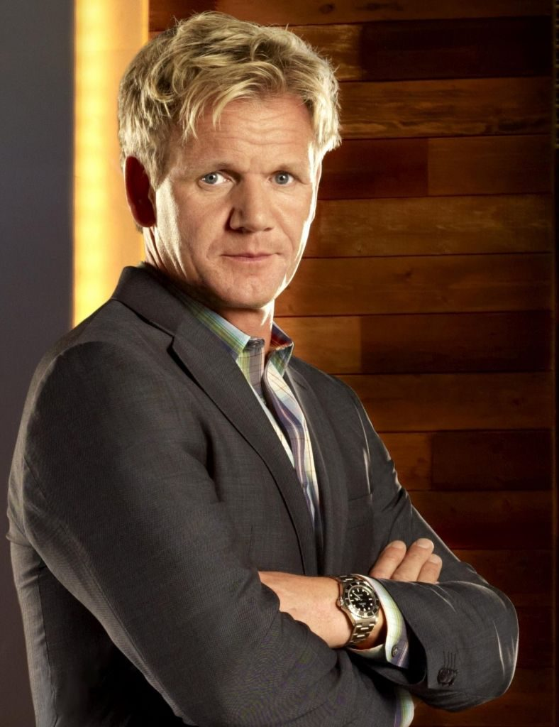 Gordon Ramsey wearing a submariner