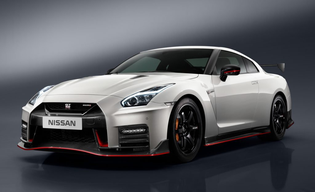 The Nissan GTR is a japanese supercar