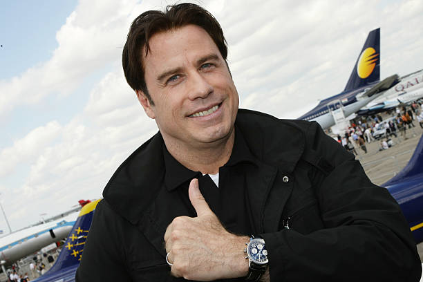 John Travolta and Breitling have a long history together