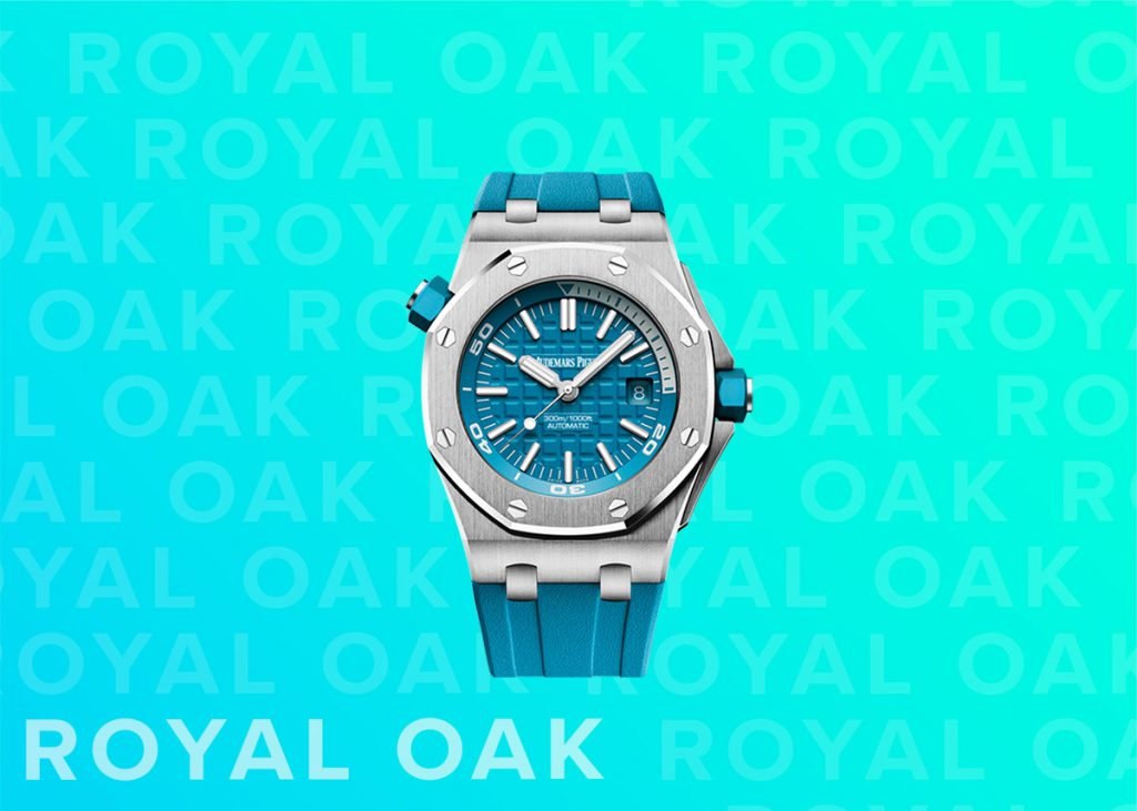 Audemars Piguet Royal Oak Offshore Diver in Tropical Turquoise
