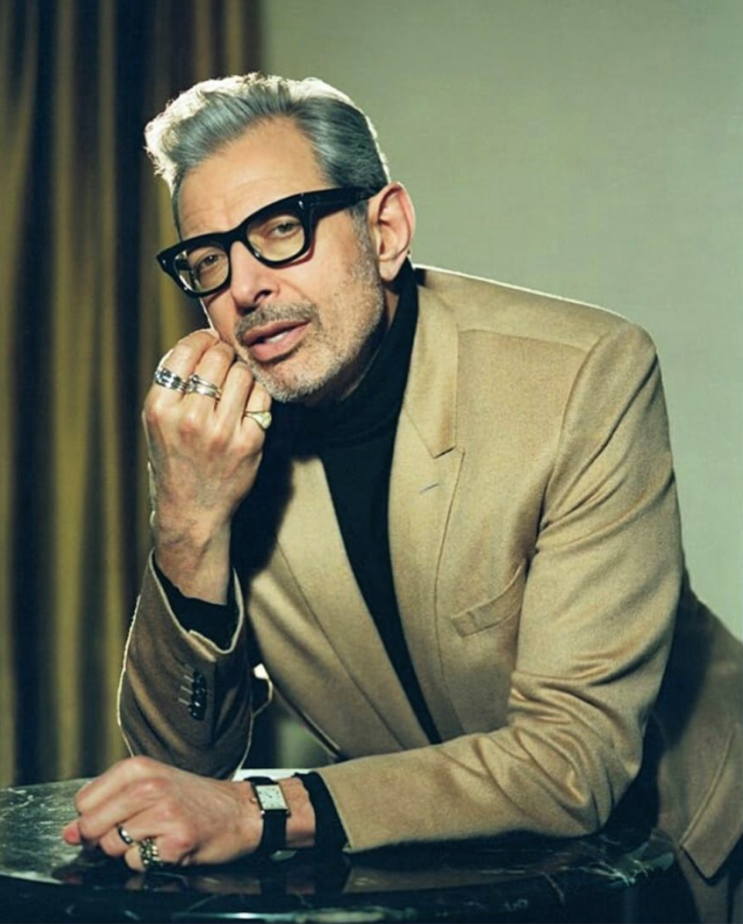 Why Jeff Goldblum isn't a Cartier ambassador is anyones question