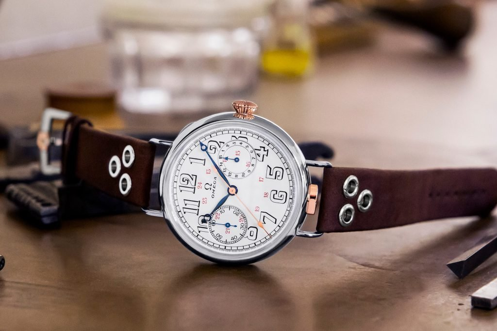 Omega Reissued their first attempt at making a chronograph