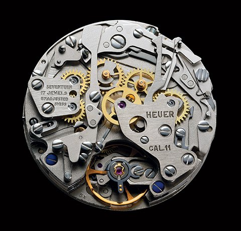The Heuer Calibre 11 Movement