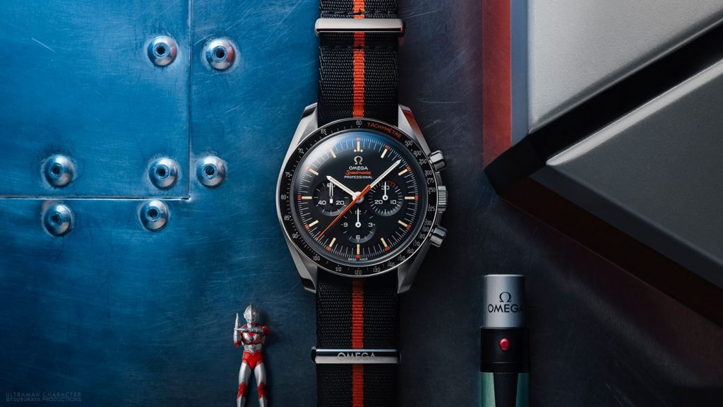 The Ultraman Speedmaster was released by Fratello watches and OMEGA in their recurring Speedy Tuesday series