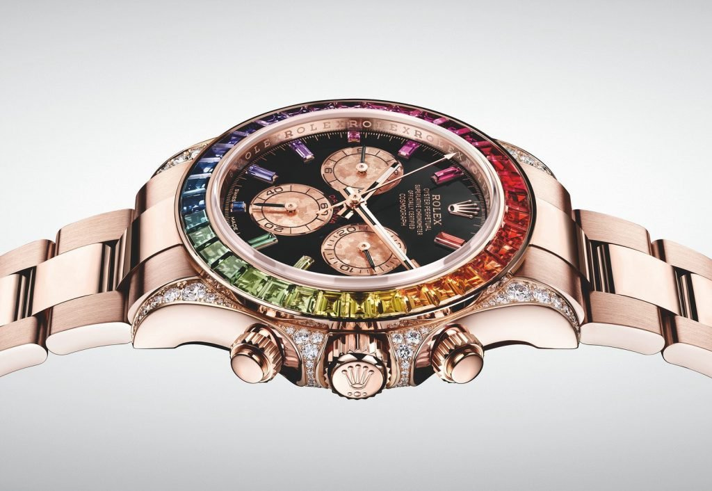 The Rainbow Daytona is my pick for coolest watch in the world