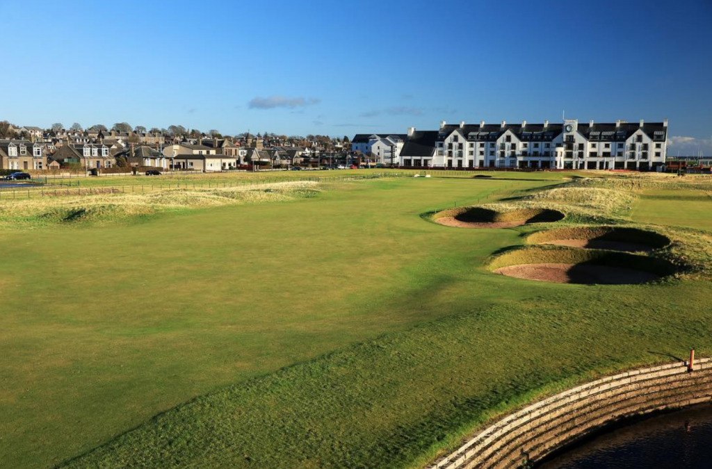 Carnoustie is hosting The Open for only the eight time in its long history